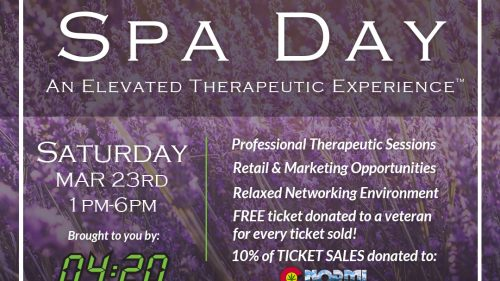 Spa Day – An Elevated Therapeutic Experience (Mar)